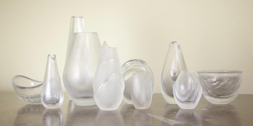 Studio glass.