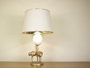 Gabriela Crespi table lamp. Italy 1970s