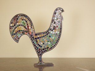 Mosaic Cockerel